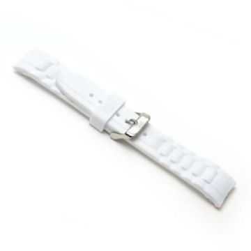 White Silicone Watch Strap to Fit Ice Watches